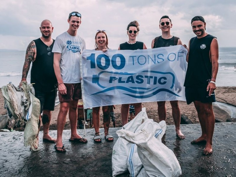 100 Tons of Plastic